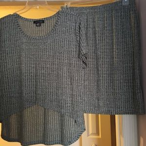 Ashley Stewart 2 piece skirt set